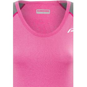 Protective Off Duty Mouwloof Fietsshirt Dames grijs/roze